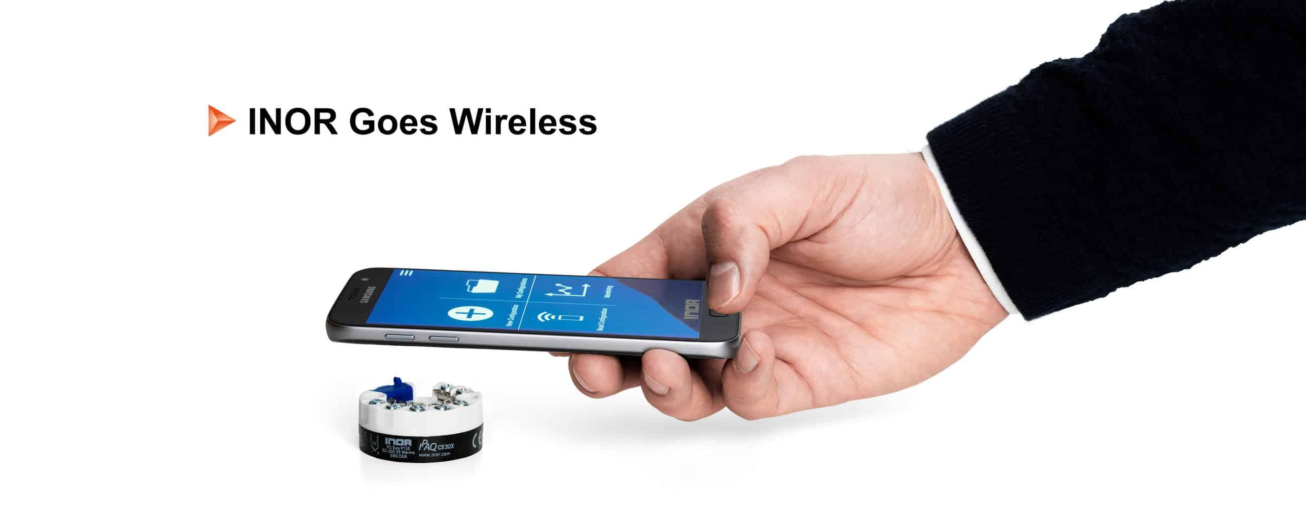 INOR Goes Wireless Concept Header